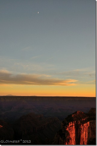 07e Moon over canyon & sunset from Cape Royal NR GRCA NP AZ (678x1024)