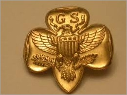 Girl Scout pin