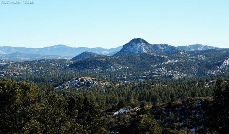 Thumb Butte & Bradshaw Mountains