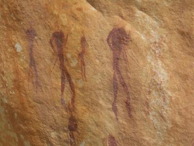 san-rock-painting