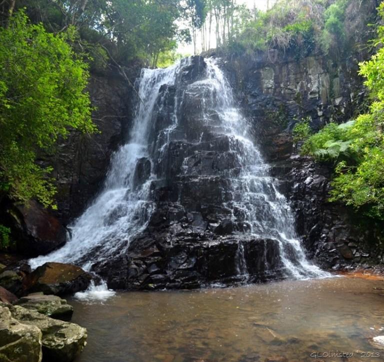 39 steps waterfall Hogsback Arboretum SA