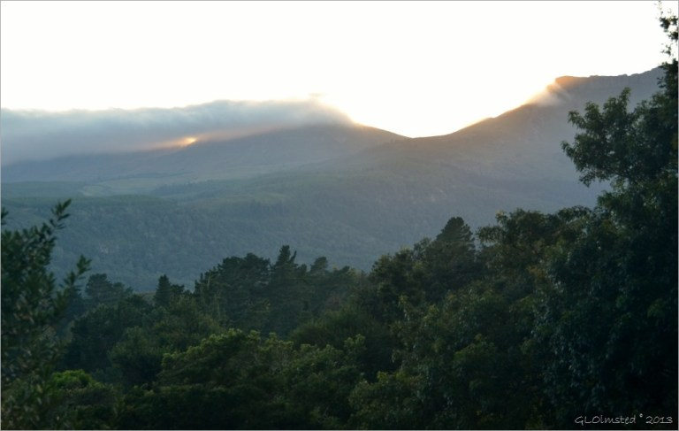 Sunrise on the Hogsbacks SA