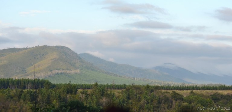 Onteniqua Mountains from Wild Spirit Nature's Valley SA