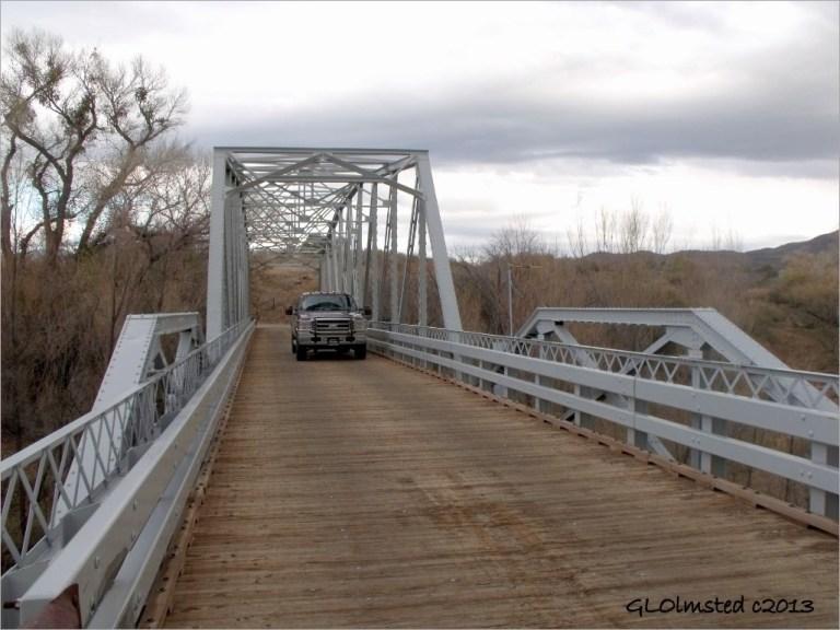 Hassayampa River Bridge Wagner Rd AZ