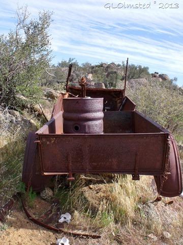 Old rusty car Weaver Mts Yarnell AZ