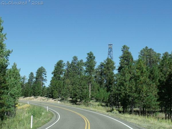 Jacob Lake fire tower Kaibab NF AZ