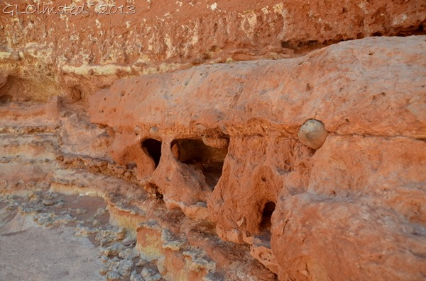 Erosion Kaibab limestone Cathedral Wash GRCA NP AZ