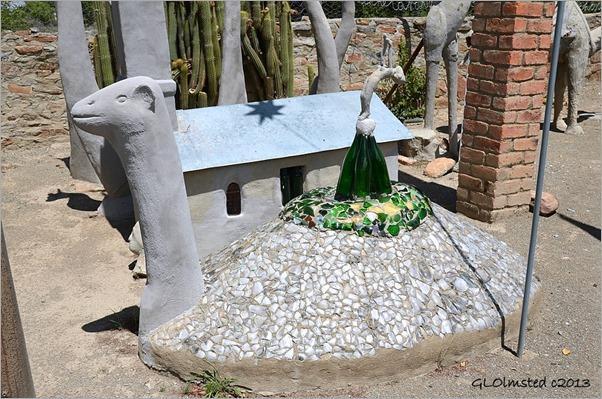 Camel sculpture at Owl House Nieu-Bethesda Great Karoo South Africa