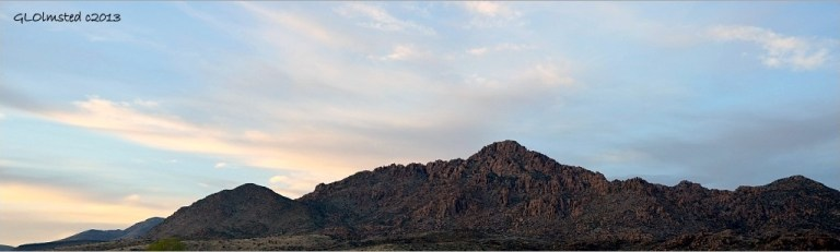 Weaver Mts near Kirkland Arizona