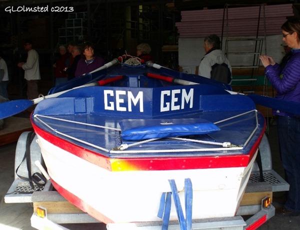 Reproduction of GEM cataract boat South Rim Grand Canyon National Park Arizona