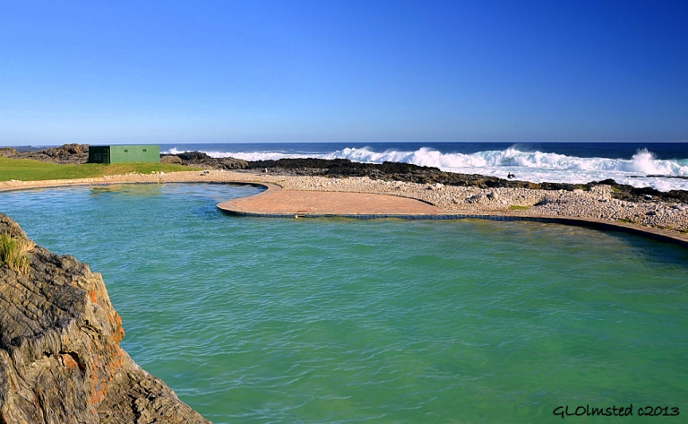 Swimming pool at Storms River Mouth Tsitsikamma National Park South Africa