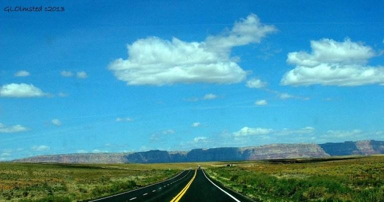 Cloud shadows on Vermilion Cliffs from SR89A North Arizona