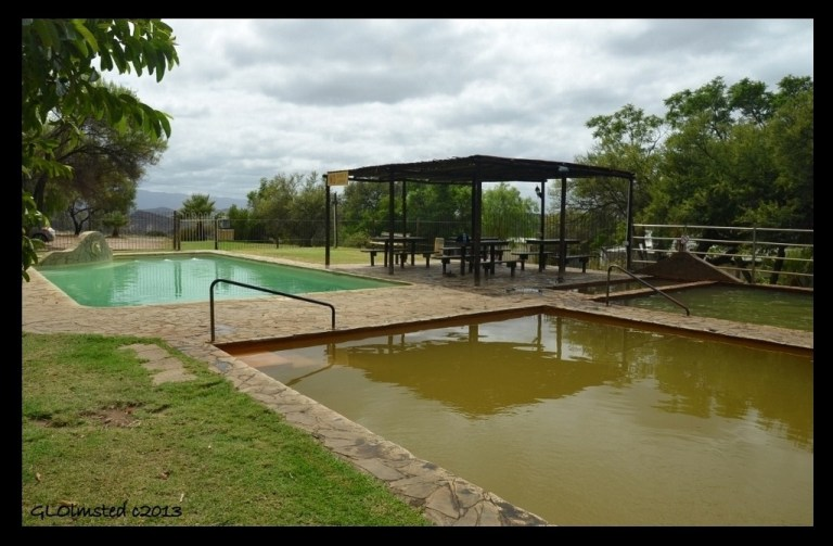 Hot & splash pools Warmwaterberg Spa South Africa