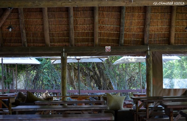 Outdoor Restaurant Addo Elephant National Park South Africa