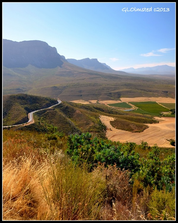 View from Gydo Pass above Prince Albert's Hamelet South Africa