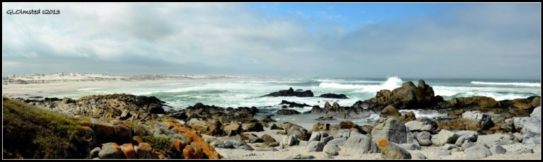 Rocky shores & waves West Coast National Park Langebaan South Africa