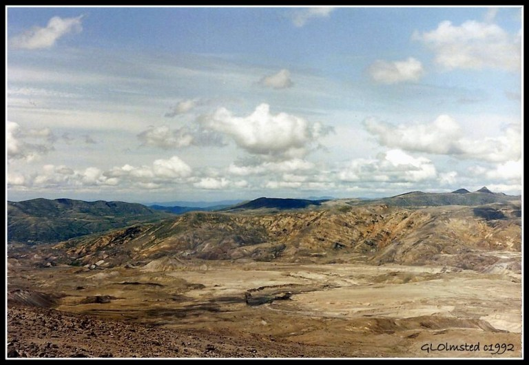 1992 Crater Walk Mount Saint Helens National Volcanic Monument Gifford Pinchot National Forest Washington