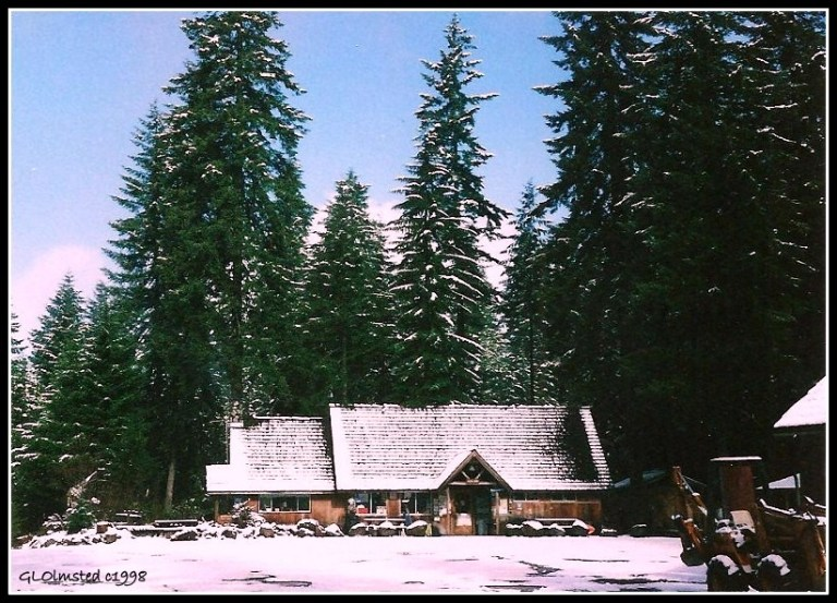 Eagles Cliff Store Gifford Pinchot National Forest Washington