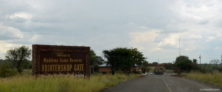 Madikwe Game Reserve Gate South Africa