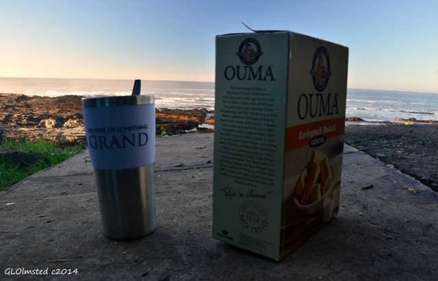 Coffee & rusks by the sea Tsitsikamma National Park South Africa