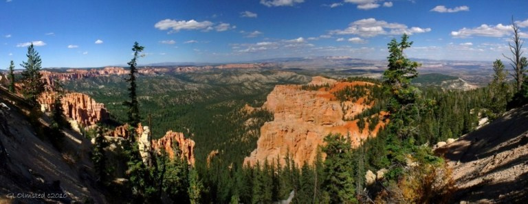 View from Bristlecone Loop trail Bryce Canyon National Park Utah