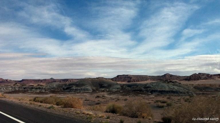 Painted Desert Highway 89 north Arizona