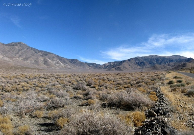 Panamint Range Emigrant Canyon Road Death Valley National Park California