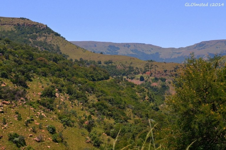View along the road to Nelspruit South Africa