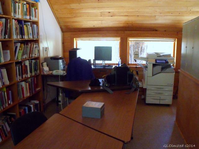 Library office North Rim Grand Canyon National Park Arizona