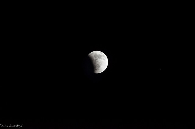Lunar eclipse Yarnell Arizona