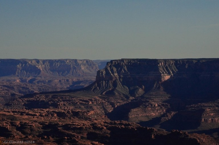 Canyon view from Jumpup Point Kaibab National Forest Arizona