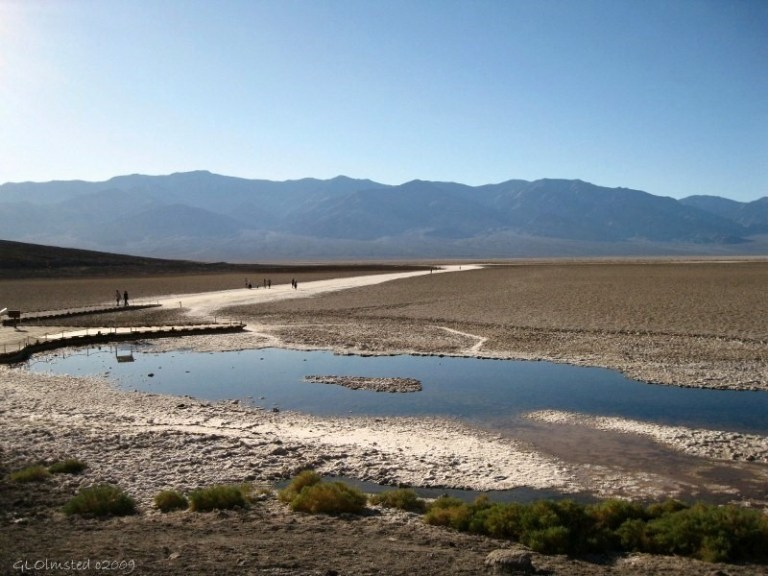 Badwater Basin off Hwy 190 Death Valley National Park California