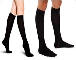 skinny legs wearing socks