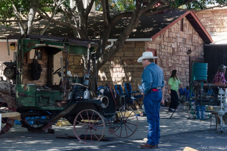 Old car Western Legends Round Up Kanab Utah