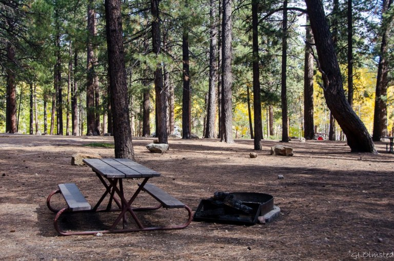 Campground North Rim Grand Canyon National Park Arizona
