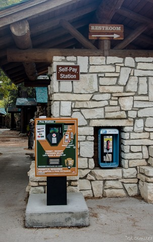 Self-pay station North Rim Grand Canyon National Park Arizona