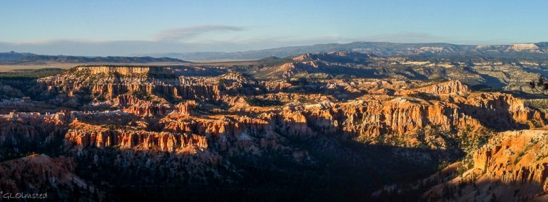 Hoodoos & beyond from Bryce Point Bryce Canyon National Park Utah