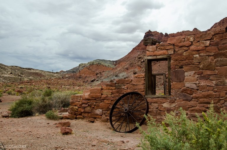 Ruins at Lees Ferry Glen Canyon National Recreation Area Arizona