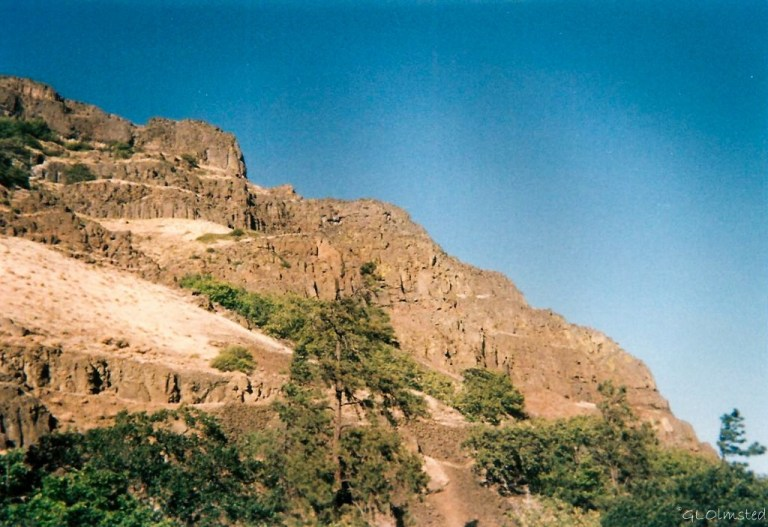 Basalt along the Columbia River Washington