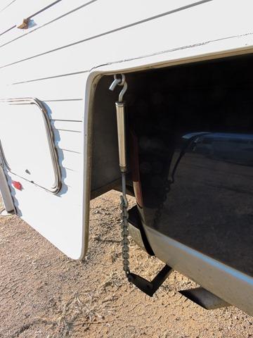 Torklift camper tie down Yarnell Arizona