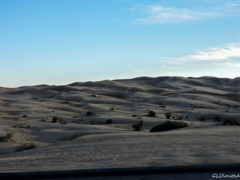 Imperial Sand Dunes SR78 California