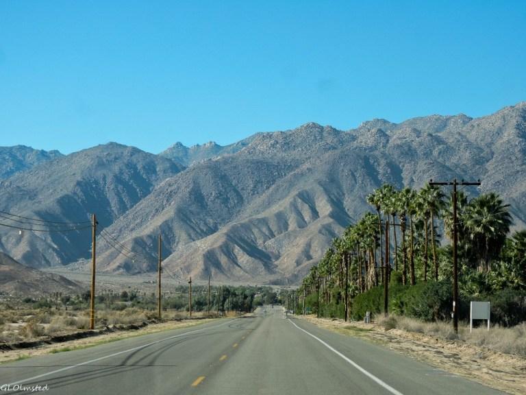 Santa Rosa Mts S22 West to Borrego Springs California