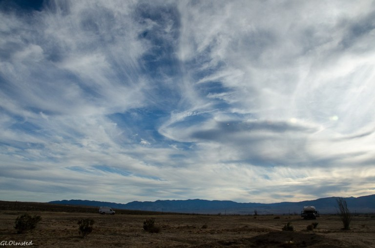 San Ysidro Mts Anza-Borrego Desert State Park California