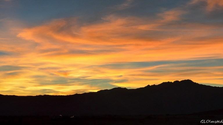 Sunset Santa Rosa Mts Anza-Borrego Desert State Park California