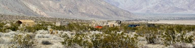 Structures Anza-Borrego Desert State Park California