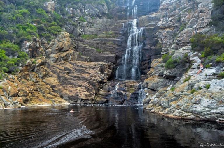 Waterfall Waterfall trail Tsitsikamma National Park South Africa