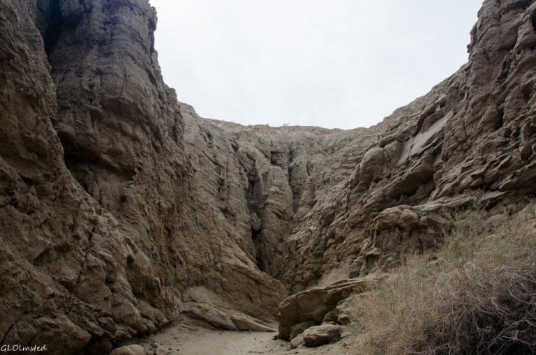 Slot canyon Anza-Borrego Desert State Park California
