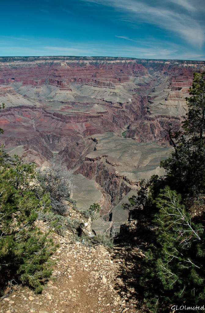 Bright Angel Canyon from South Rim Grand Canyon National Park Arizona