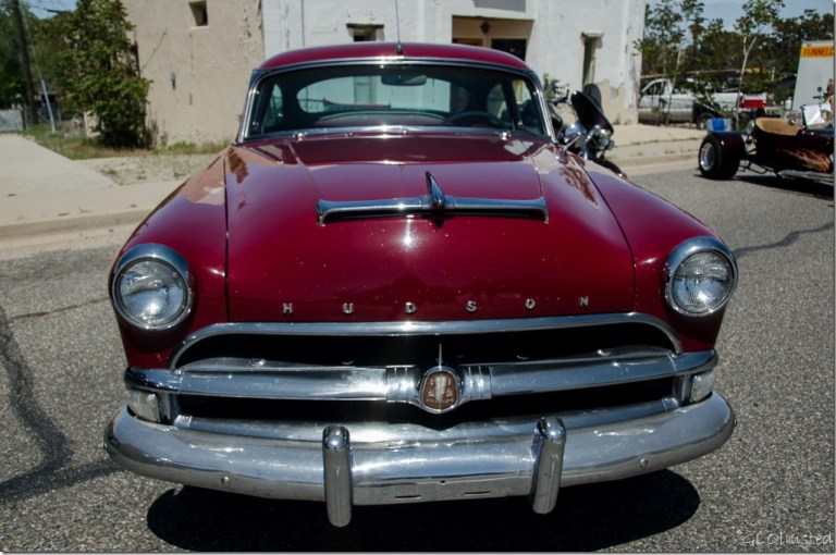 Hudson Hornet Yarnell Car Show Arizona