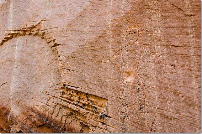 Contemporary rock art Kanab Utah